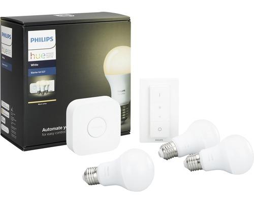 Philips Hue Starterset : philips hue starterset white 3x e27 9 5w peervorm ~ Watch28wear.com Haus und Dekorationen